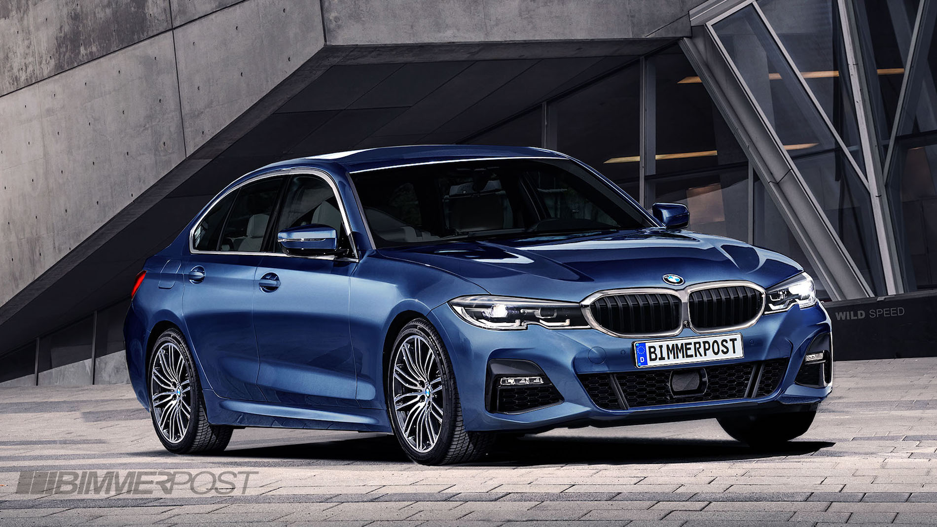 Bmw Serie 3 G20 >> Our Preview Of The G20 3 Series M Sport Render