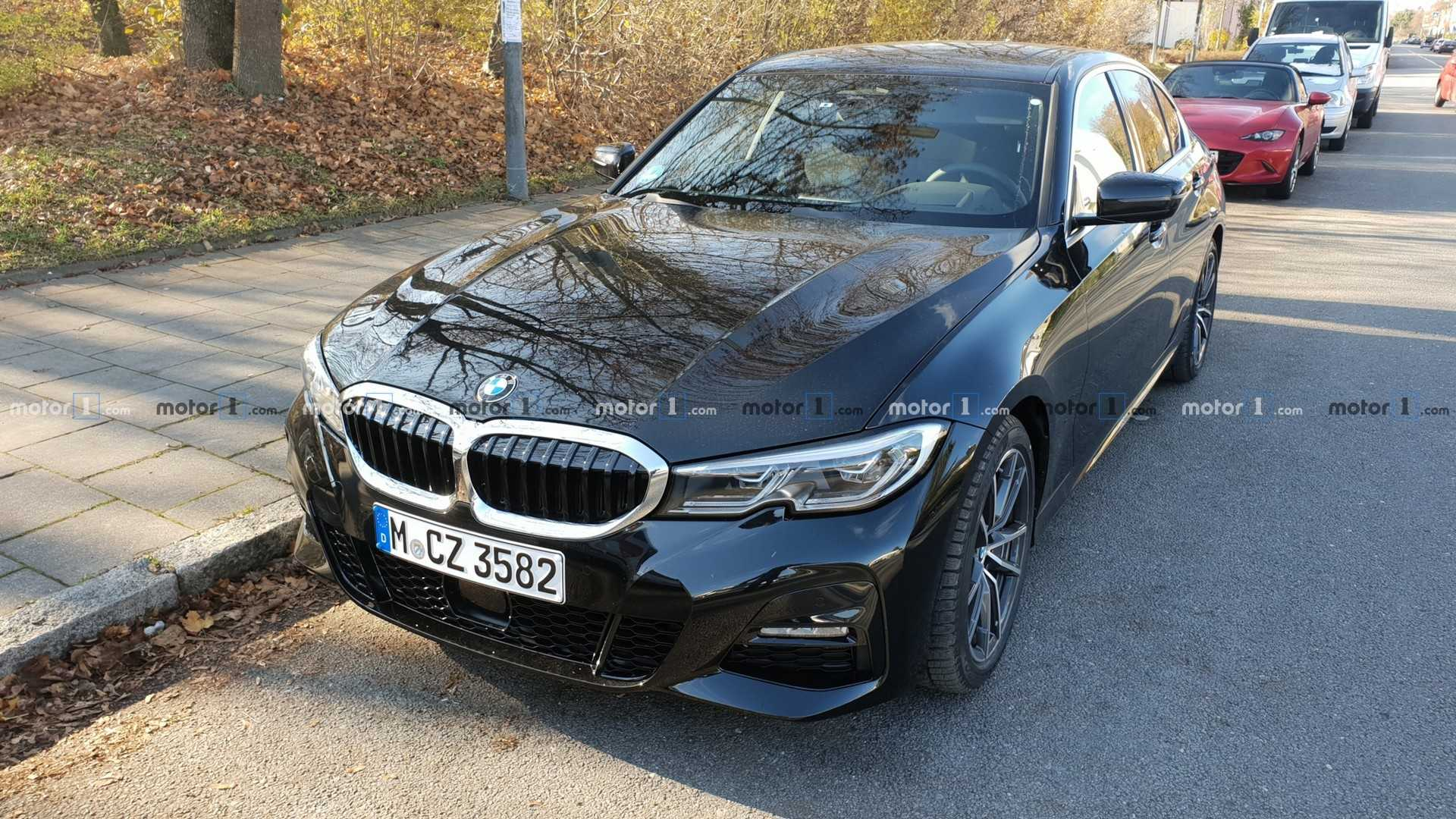 Black G20 Spotted On Streets Of Munich G20 Bmw 3 Series Forum