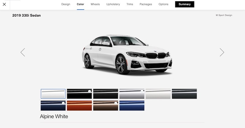 2019 Bmw 3 Series G20 Configurator Is Up Post Your Build