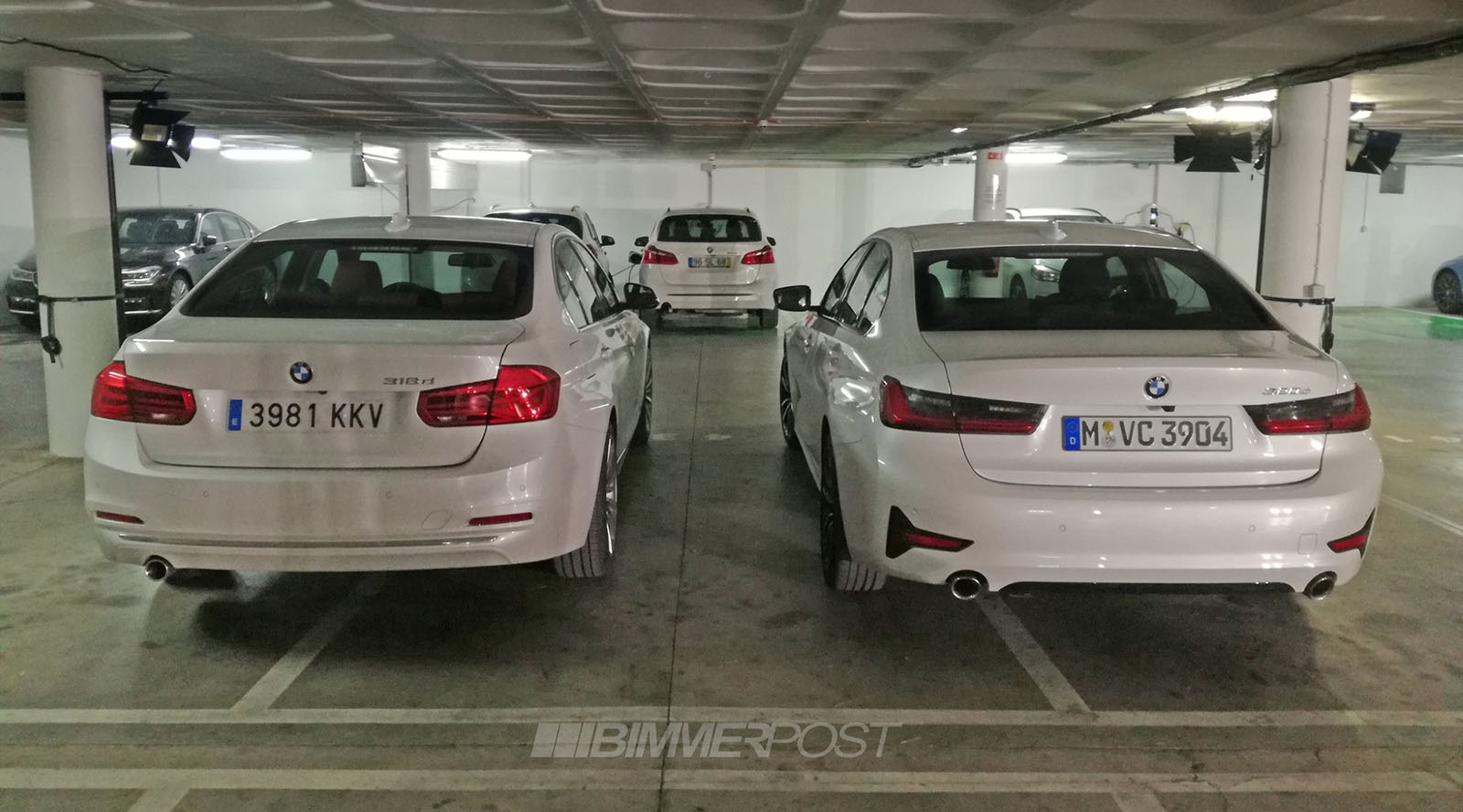 First G20 Vs F30 3 Series Real Life Side By Side Look
