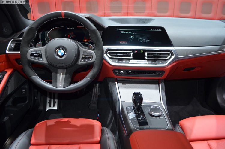 bmw 3 series 2020 red interior,