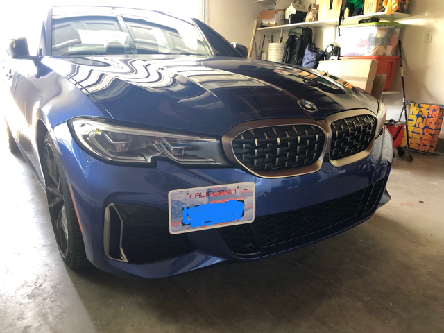 Made of Stainless Steel /& Aluminum No Drilling | 2014-2018 Made in USA Installs in Seconds F34 CravenSpeed The Platypus License Plate Mount for BMW 3 Series GT