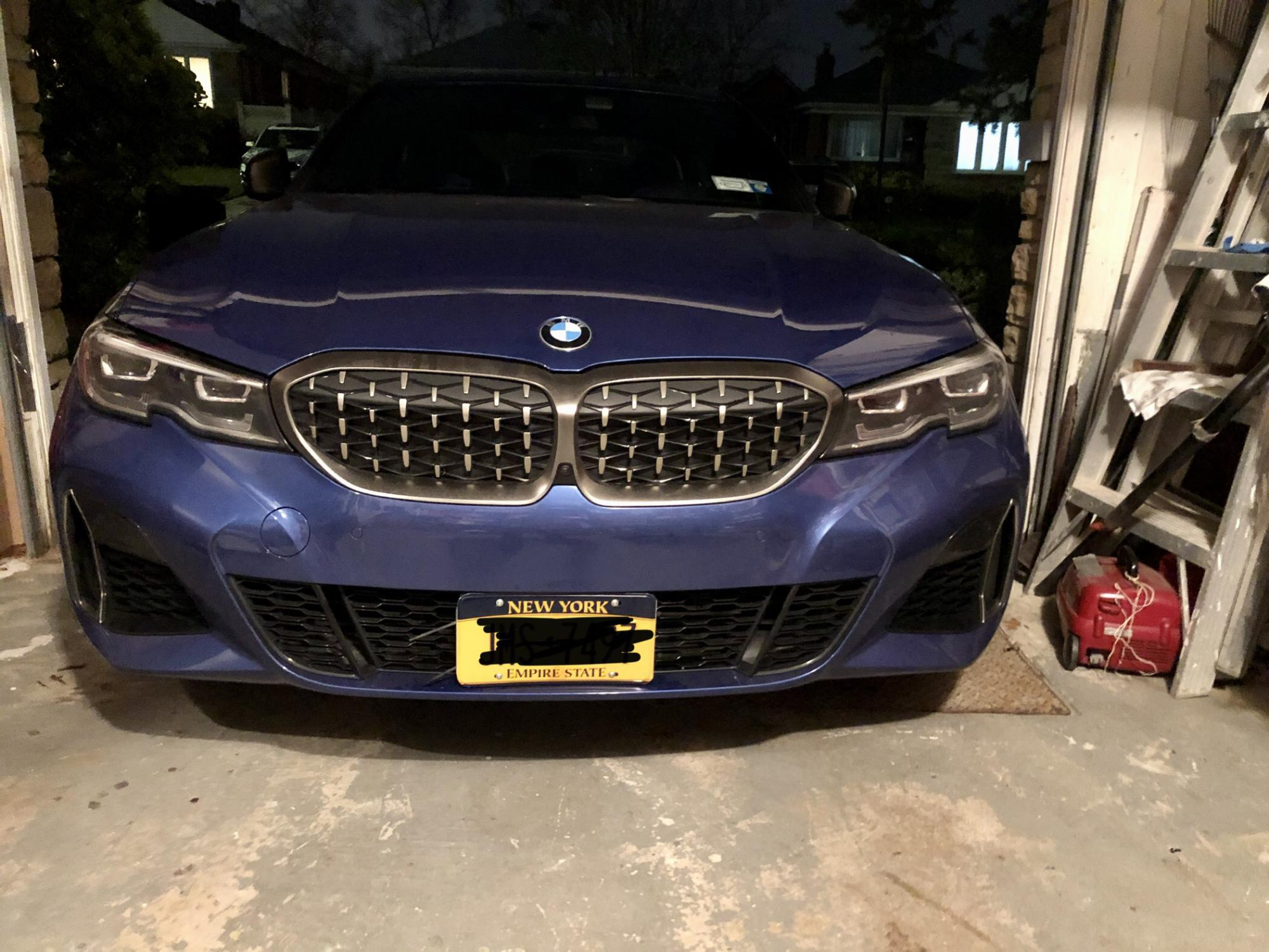 Stupid Front License Plate Law G20 Bmw 3 Series Forum