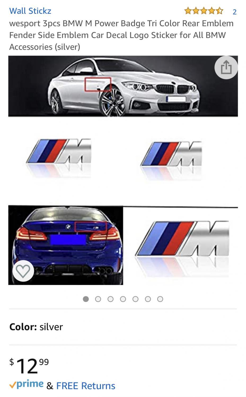 M Badge Emblems G20 Bmw 3 Series Forum