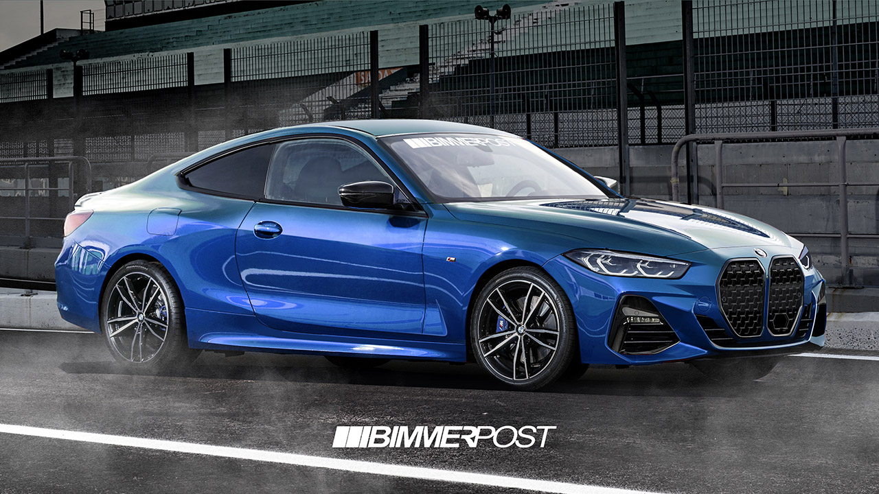 Name:  G22 4 Series Coupe Front Blue BIMMERPOST 1.jpg