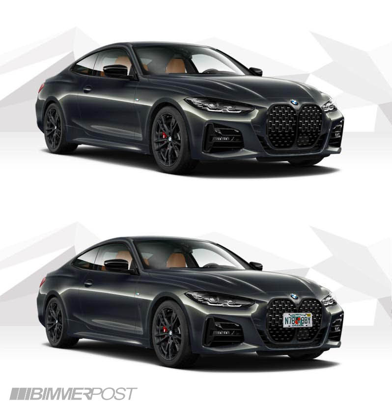 Name:  Gray G22 M440i 4 Series Coupe No Front Plates.jpg Views: 25961 Size:  70.1 KB