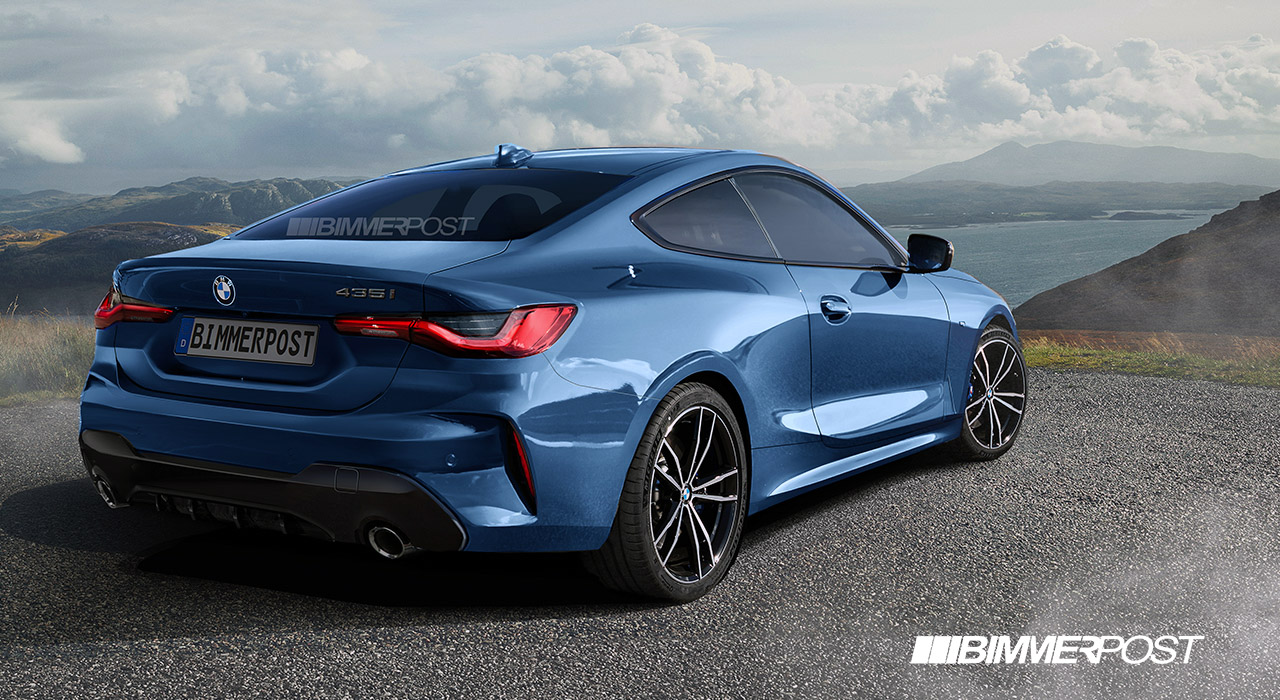 Name:  G22 4 Series Coupe Rear Blue BIMMERPOST.jpg