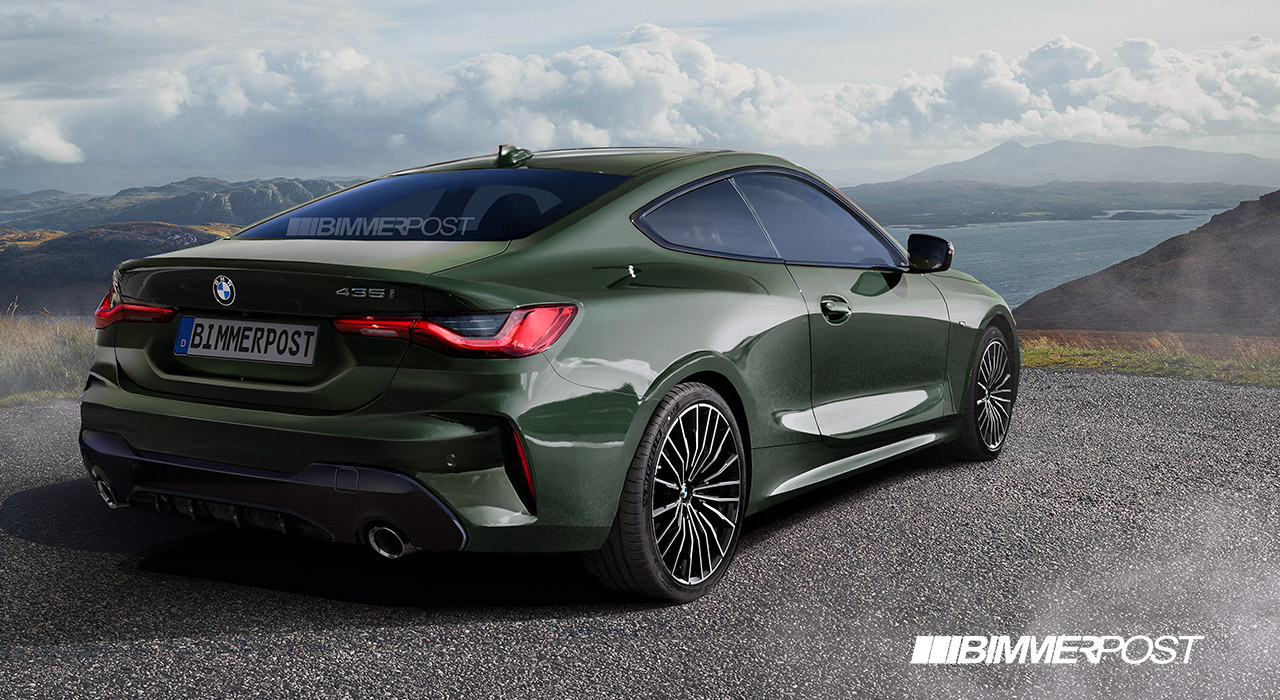 Name:  G22 4 Series Coupe Rear Green BIMMERPOST.jpg