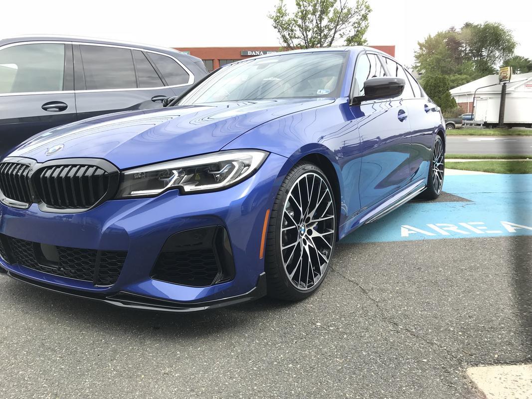 Name:  Portimao Blue G20 M340i M Performance Parts 1.jpg Views: 21410 Size:  185.4 KB