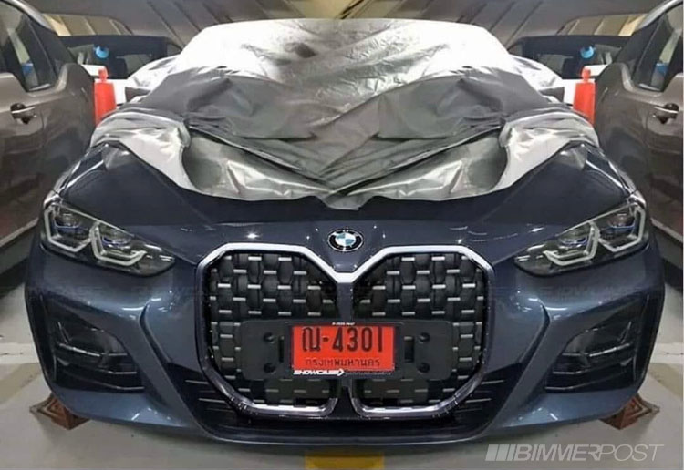 Name:  G22 4 Series Coupe Front Grilles US Plates.jpg