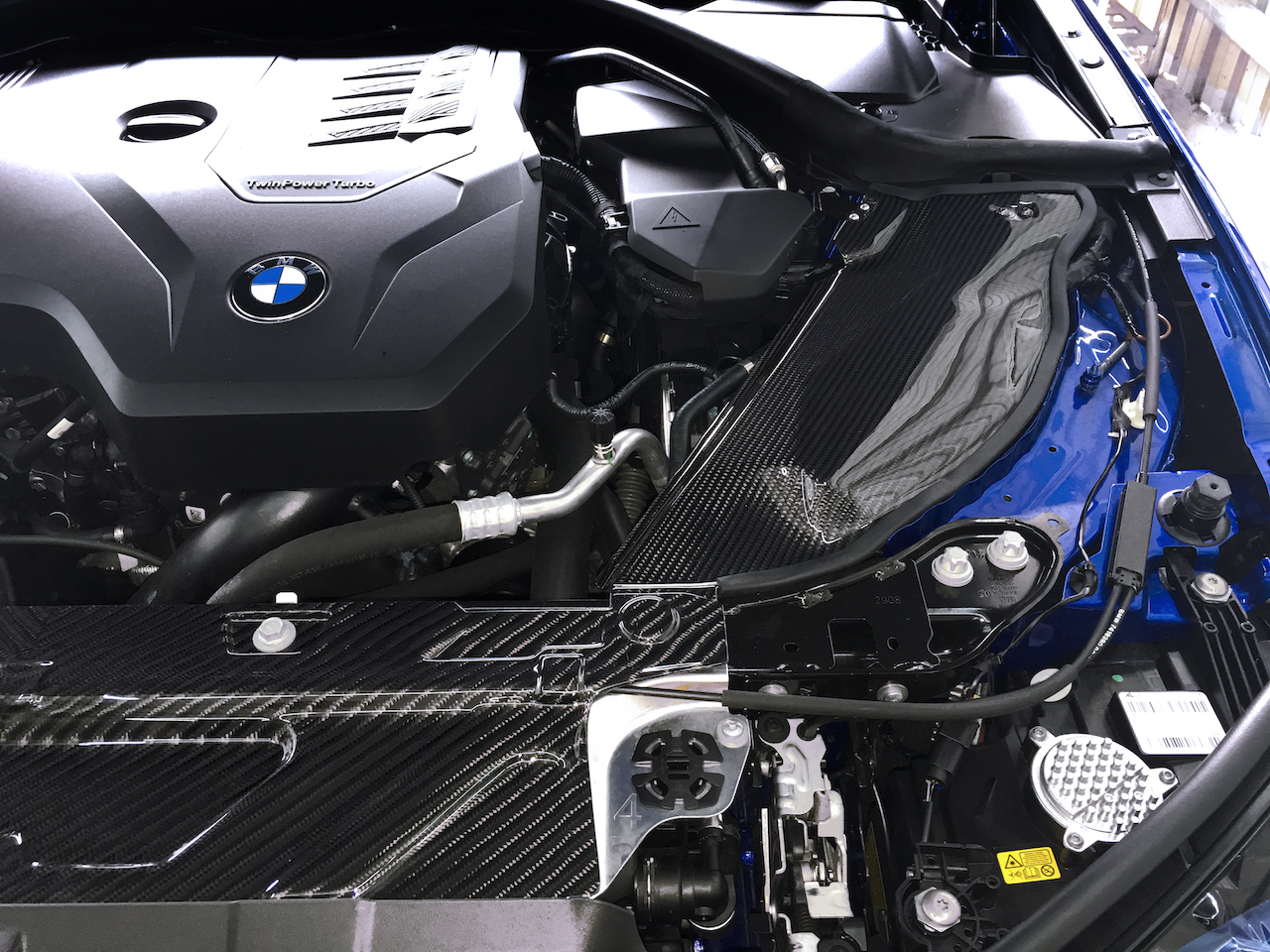 Name:  BMW G20 330 320  Armaspeed carbon cold air intake.jpg